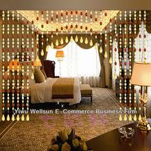 hecho a mano con cuentas de acrílico cortinas de cuentas de material para las cortinas de la puerta y03