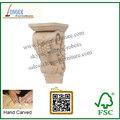calificado talladas a mano ménsula de madera del cnc talla de madera ménsulas decorativas para la chimenea