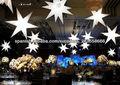 decoración de la boda inflable estrellas