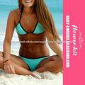 Marca nuevo bikini caliente de la venta de neopreno establece F4310 triángulo bikini