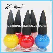 Popular larga- duración de esmalte de uñas multicolor crack esmalte de uñas para esmalte de uñas polvo