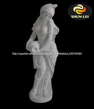 mármol mujer desnuda estatua