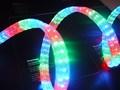 Flexibel forma plana, 4 cables de luz led de cuerda,