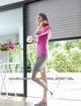 ventana de Aluminio Inyectadas con Poliuretano/ventana de rodillo