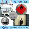 99.9% l de ácido acético