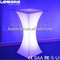 nuevo cambio de color led barra de mesa mesa de cóctel para la fiesta o pub