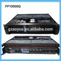 De alta corriente de amplificador de potencia, amplificador de potencia estéreo fp10000q