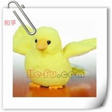 amarillo de aves de peluche de felpa animales volando juguete