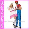 venta al por mayor de color rosa de la danza de cosplay mostrar el escenario el disfraz de princesa