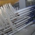 luz de calle poste de acero tubular