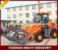 1.8 construcción toneladas de equipo pesado de la máquina mini cargadora de ruedas