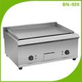 Comercial eléctrica parrilla y plancha bn-822b