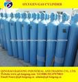 exportação cilindro de oxigênio tamanho diferente