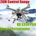 2014 2.4G RC zánganos profesional para fotografía aérea FPV x350 qr quadcopter VS gran tamaño rc helicóptero DJI