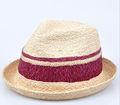 venta al por mayor 2014 fresco para mujer de paja fedora tapa las mujeres trilby sombrero de verano para damas sombreros somb