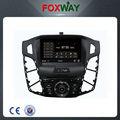 2 din coche multimedia con mirror link para ford focus apoyado control de formación de imágenes de dos vías