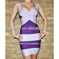 2014 el último vestido de noche del diseño del vendaje de los grils , estafa cuerpo sexy vestido del vendaje H001