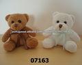 07163 recheado de pelúcia e uma miniatura do urso de pelúcia com fita no pescoço