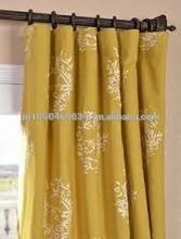 cortinas de algodón