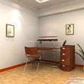 o mais novo de madeira design moderno mobiliário mesa do computador de design