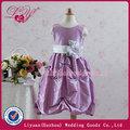 2014 fashional y hermoso lila vestidos de niña de las flores