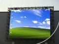 Tablillas de anuncios llevadas electrónicas al aire libre publicitarias vivas virtuales de P16 RGB