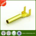 de precisión de latón tipo pin terminal de terminal del cable