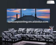 hermoso colorido de pinturas del paisaje