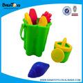 cor areia balde de praia para crianças