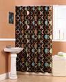 ducha de poliéster cortina