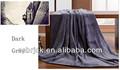 venta al por mayor de color gris oscuro polar de coral rollos de tela proveedor