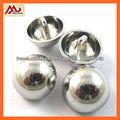 brillant couture d'argent bouton tige de métal