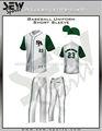 Top uniformes personalizados de béisbol/oficial de menor importancia de réplica de la liga de béisbol uniformes