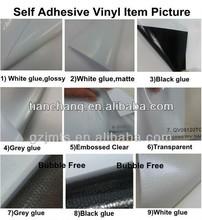 Vinilo auto-adhesivo de tela
