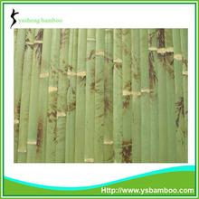 natural de bambú decoración de la pared del panel