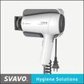 Profesional secador de pelo silencioso, aire frío y caliente secador de pelo, secador de pelo con un peine
