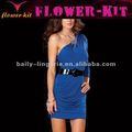 Nueva diseño vestido chiné