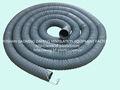 120mm PVC souple fil à ressort tuyau d'aspiration de la poussière de tuyau d'aspirateur