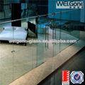 fábrica de venda quente de vidro transparente parede divisória do escritório