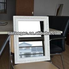 Decoración de la pared espejo adornado marco 40*50cm