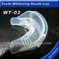 embalagem individual de qualidade alimentar silicone protetor de boca para clareamento dos dentes