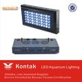 mejor venta de productos de ebay 120w led de iluminación del acuario para el público del tanque de peces de acuario