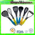 Calidad alimentaria Herramientas de la cocina y utensilios con mango de acero para menaje de cocina
