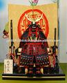 Armadura samurai japonês & capacete (japão heróico samurai história de sucesso)