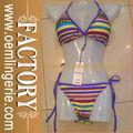 Vintage bikini traje de baño de la nadada wear