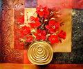 Venta caliente de acrílico imagen de obras de arte pintura al óleo sobre canvasct- 144