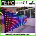 Emisión de color cambiante y CE / Certificación RoHS LED cortina de vídeo