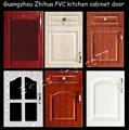 blanco de pvc laminado gabinete de cocina puerta precio