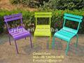 Patio trasero de colores jyl-9001 silla