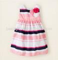 Baby Girl barato encantador Niños lindos vestidos de verano sin mangas RAYA Wholesale